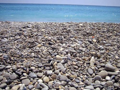 Nhặt đá cuội ở đâu