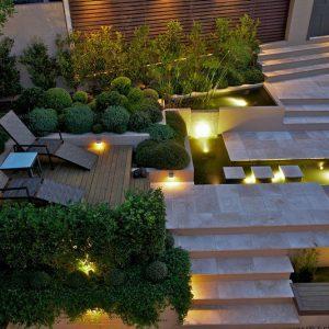 2 cách bố trí sân vườn đẹp đơn giản