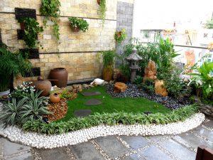 Mẫu tiểu cảnh sân vườn đẹp