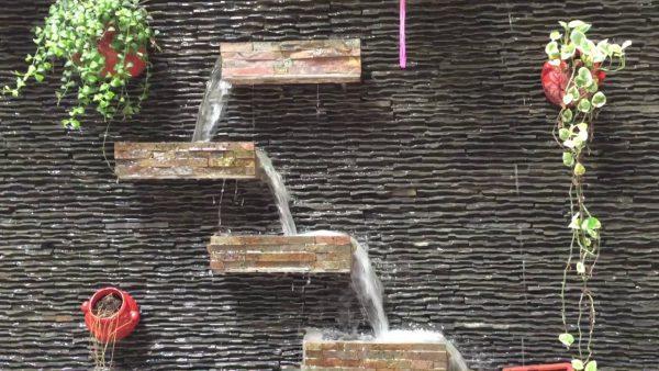 tiểu cảnh thác nước mini